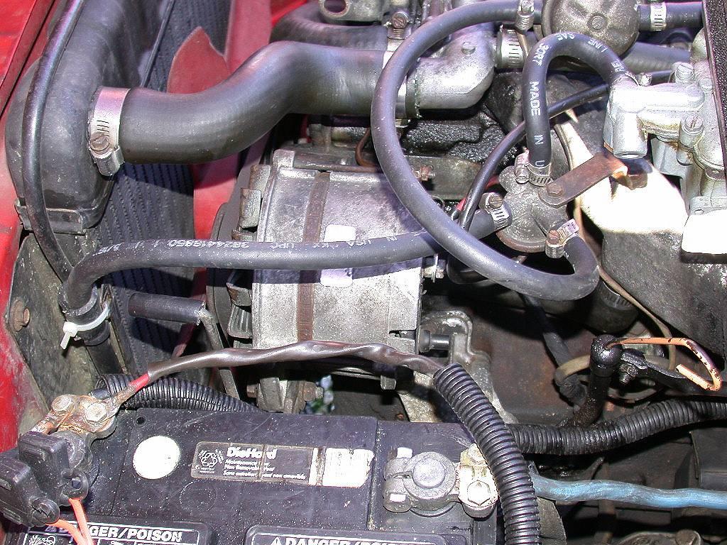 Installing a 318i 80 Amp Alternator